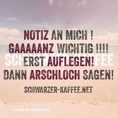 NOTIZ AN MICH Funny Cute, Hilarious, Daily Jokes, Words Quotes, Sayings, Status Quotes, Funny Cartoons, Man Humor, True Words