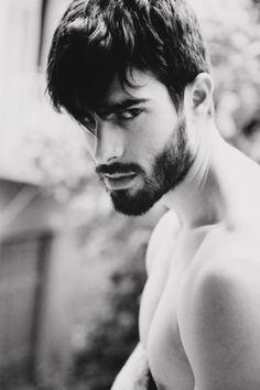 beard, mustache and love