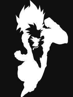 Goku - The HERO | http://www.redbubble.com/people/seventhirtytwo/works/15166476-hero