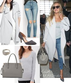 Khloe Kardashian is Shades of Grey Sexy - Shop Her Look for ...