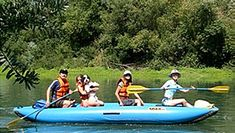 Rafting on the Russian River @ Russian River Adventures (Healdsburg, CA)
