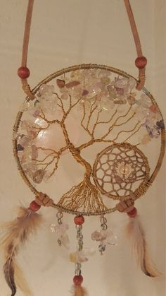 Tree Of Life Dream Catcher by PrettyThingz4UByMe on Etsy