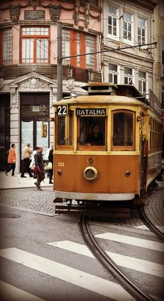 Tram Electrico 22 18 Porto