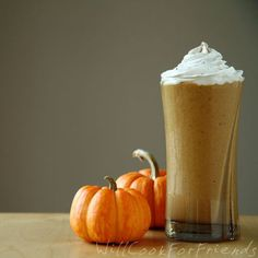 This pumpkin pie smoothie is vegan and gluten-free.  Get the recipe at Will Cook For Friends.