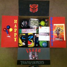 Birthday box care package