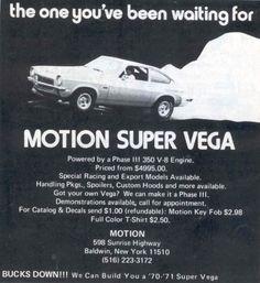 Stiffspeed : Photo motion V8 vega
