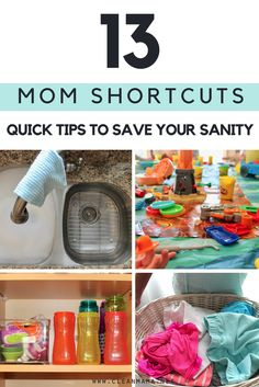 Sanity saver alert! Such great tips to make life a wee but easier.