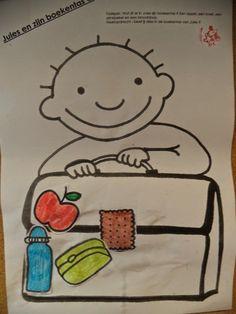 Wat zit er in de boekentas van Jules? Back 2 School, First Day Of School, Welcome To School, Petite Section, Schools First, Autumn Theme, Child Development, Preschool, Classroom