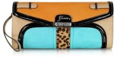 Color Block Eco Leather Clutch / Guess / ゲス - shopstyle.co.jp