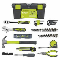 Craftsman Evolv 52 pc Homeowner Tool Set: All-In-One Tool Sets At Sears