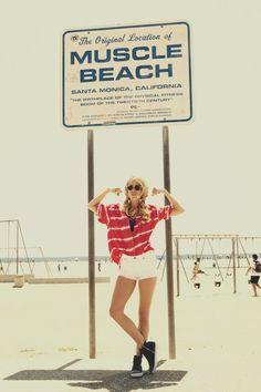 Muscle Beach #PinToWin #NapoleonPerdis #NPSet #California