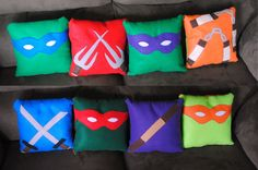 DIY: TMNT Pillows