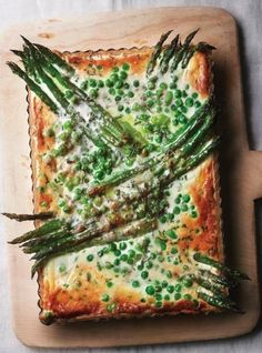 Eric's Spring Garden Green Tart looks and tastes like a morning walk through a beautiful vegetable garden.