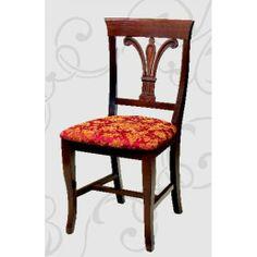 Scaun din lemn masiv Carol I