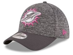 Miami Dolphins New Era NFL Breast cancer Awareness Official 39THIRTY Cap 0ecfa0473364