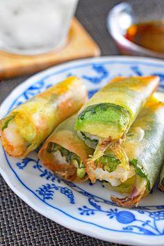 Thia Food, Food To Make, Cafe Food, Food Menu, Good Food, Yummy Food, Tasty, Light Snacks, Asian Recipes