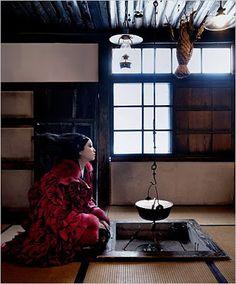 ASIAN MODELS BLOG: Anne Watanabe Editorial for New York Magazine's T Magazine, November 2007