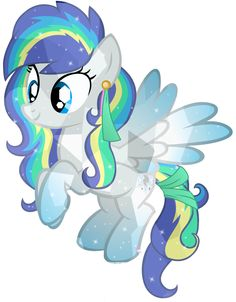 This is Blew. She has wind and invisibility and has a butterfly that roars blue flames.