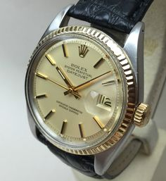 Vintage Rolex Datejust Step Dial Ref. 1601 for sale