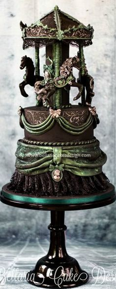 Gothic Carousel Cake #coupon code nicesup123 gets 25% off at  leadingedgehealth.com                                                                                                                                                                                 More