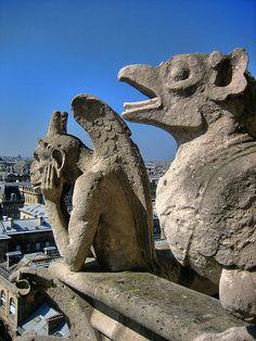 París - Notre Dame Gargoyles