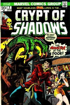 Cover for Crypt of Shadows (Marvel, 1973 series) #2