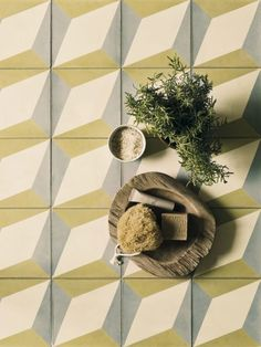 Handmade in Portugal, these tiles are part of a stylish range that will give your room a Mediterranean feel. Estremoz encaustic tiles (20cm x 20cm), £224.70 a sq metre, Fired Earth