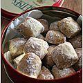 """""""Vanille kipferl"""" de Christophe Felder, à déguster en pensant à sa liste pour le père Noël ... - """"Mes brouillons de cuisine !"""""""