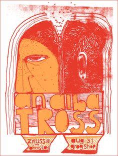 An Albatross Poster // The Bubble Process // $20