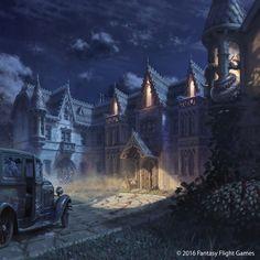 ArtStation - Mansions of Madness Cover, Jokubas Uogintas