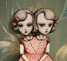 You Are So Special  The Conjoined Twins Fully por mabgraves en Etsy, $20.00