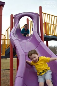 Fun on the Slide + More Playground Playdate Ideas with Gymboree #HopNRoll and B-Inspired Mama (AD)