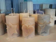 Ambachtelijk gemaakte kaarsen