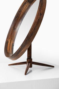 Rosewood Table Mirror/Studio Schalling