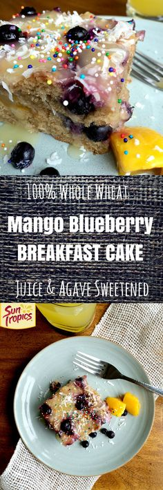 Love that the glaze is just thickened juice. What a great breakfast idea!