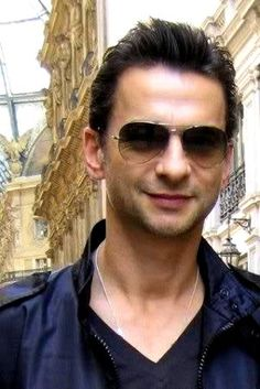 Dave Gahan of Depeche Mode in a casual moment