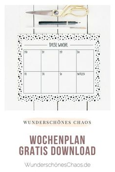 Newest Totally Free planner printable deutsch Concepts Are you ready to get started with printable planner inserts? If you're new to printables or just n Daily Calendar, School Calendar, Kids Calendar, Monthly Planner Printable, Printable Calendar Template, Free Planner, Free Printable, Stampin Up Weihnachten, Gratis Download