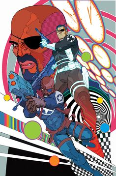 Nick Fury(s) - S.H.I.E.L.D. 50th Anniversary - Christian Ward