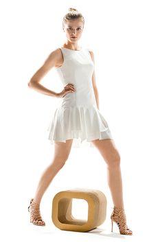 Idealna biała sukienka na lato. Perfect white summer dress.