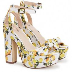98ef36e7a365b Platform Sandals. Zapatos Animal PrintDressy ...