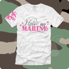 I Love My Marine Pink, $26.00