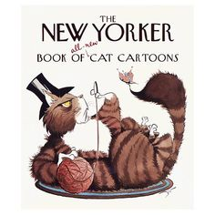 The New Yorker Book of All-New Cat Cartoons (New Yorker Series)