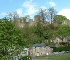 """Ludlow Castle. Famously described by John Betjeman as """"the loveliest town in England"""", and with over 500 listed buildings, mainly Georgian or half-timbered, Ludlow is a feast for the eyes."""