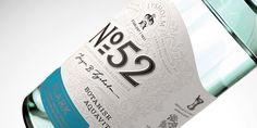 Lysholm N52 Botanisk Aquavit — The Dieline - Branding & Packaging Design