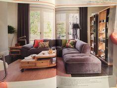 aménagement décoration salon moderne taupe | salon moderne ...