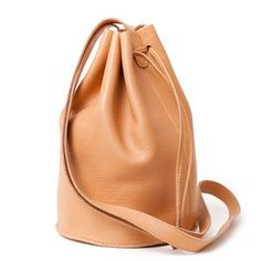 Drawstring Purse Natural, 124€, now featured on Fab.
