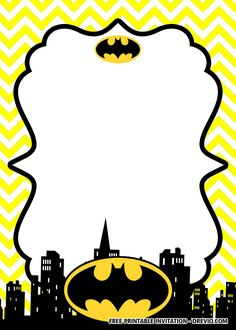 FREE Printable Batman Birthday Invitation Templates - Batman Printables - Ideas of Batman Printables - Free FREE Printable Batman Birthday Invitation Templates Batman Invitations, Birthday Card Template, Free Printable Birthday Invitations, Birthday Cards, Boy Birthday Parties, 4th Birthday, Batman Free, Batman 2, Batman Logo
