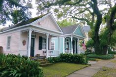 Shotgun houses. #southern #architecture