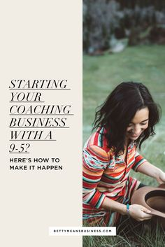 Looking at starting your own business but still working a full-time job to bring in some much-needed cash? Check out my 9 tips to get things happening.