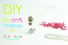 DIY Jewelry KIT Supplies Included  by SOcutefindings on Etsy, $10.00